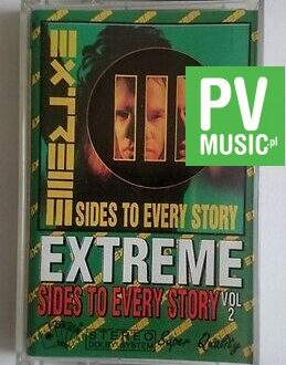 EXTREME  SIDES TO EVERY STORY vol.2   audio cassette