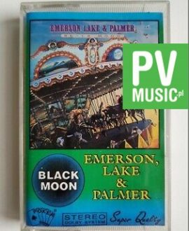 EMERSON LAKE & PALMER BLACK MOON audio cassette