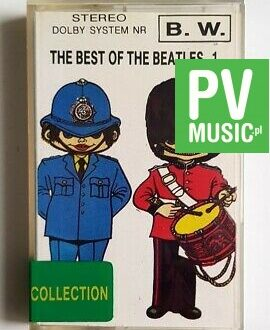 THE BEATLES THE BEST OF 1. audio cassette