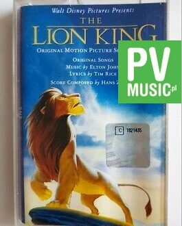 THE LION KING SOUNDTRACK audio cassette