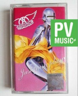 AEROSMITH JUST PUSH PLAY audio cassette