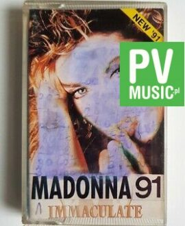 MADONNA IMMACULATE COLLECTION  audio cassette