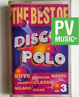 THE BEST OF DISCO POLO CLASSIC, BOYS.. audio cassette