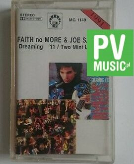 FAITH NO MORE&JOE SATRIANI  DREAMING 11/TWO MINI LONGPLAY  audio cassette