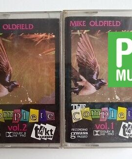 MIKE OLDFIELD THE COMPLETE audio cassette