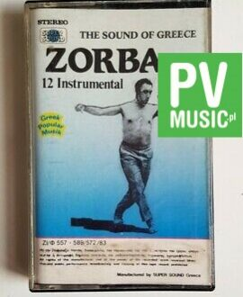 ZORBA THE GREEK THE SOUND OF GREECE audio cassette