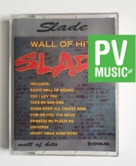 SLADE WALL OF HITS double album audio cassette