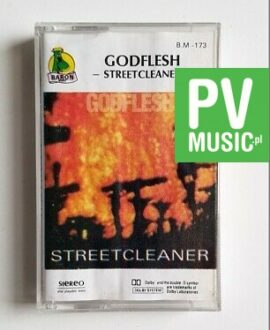 GODFLESH STREETCLEANER audio cassette