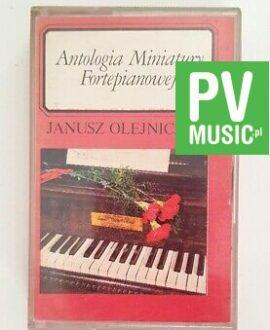 JANUSZ OLEJNICZAK ANTOLOGIA MINIATURY FORTEPIANOWEJ audio cassette