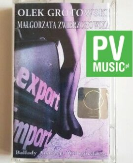 OLEK GROTOWSKI BALLADY ANDRZEJA WALIGÓRSKIEGO audio cassette
