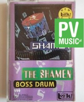 THE SHAMEN BOSS DRUM audio cassette