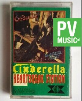 CINDERELLA HEARTBREAK-STATION audio cassette