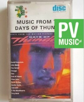 DAYS OF THUNDER SOUNDTRACK audio cassette