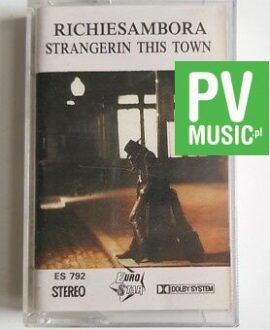 RICHIE SAMBORA STRANGER IN THIS TOWN **  audio cassette