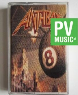 ANTHRAX VOLUME 8 THE THREAT IS REAL audio cassette