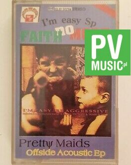 FAITH NO MORE/PRETTY MAIDS I'M EASY/OFFSIDE audio cassette