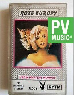 RÓŻE EUROPY KREW MARILYN MONROE audio cassette
