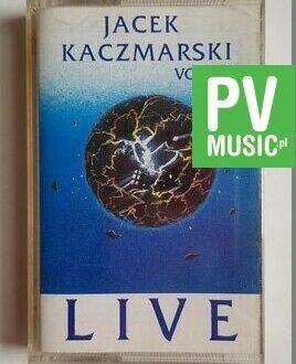 JACEK KACZMARSKI LIVE vol.2 audio cassette