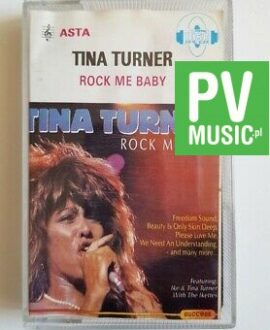 TINA TURNER ROCK ME BABY audio cassette