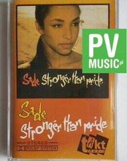 SADE STRONGER THAN PRIDE audio cassette