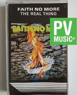 FAITH NO MORE THE REAL THING audio cassette