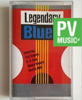 LEGENDARY BLUES MUDDY WATERS, HOWLIN WOLF.. audio cassette