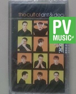 ANT&DEC THE CULT OF ANT&DEC  NEW IN FOIL    audio cassette