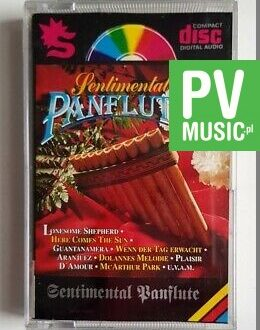 SENTIMENTAL PANFLUTE audio cassette
