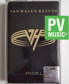 VAN HALEN BEST OF volume 1 audio cassette