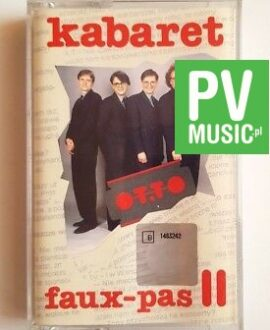 KABARET OT.TO faux-pas II audio cassette