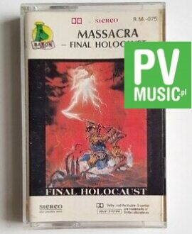 MASSACRA FINAL HOLOCAUST audio cassette