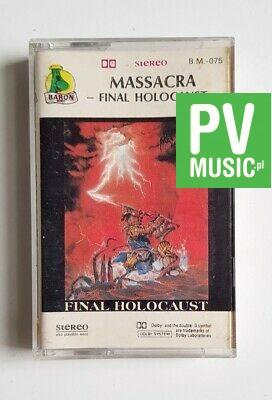 MASSACRA FINAL HOLOCAUST audio cassette