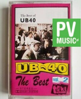 UB40 THE BEST OF vol.2 audio cassette