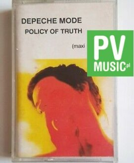 DEPECHE MODE POLICY OF TRUTH audio cassette