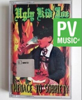 UGLY KID JOE MENACE TO SOBRIETY audio cassette