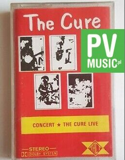 THE CURE CONCERT - THE CURE LIVE audio cassette