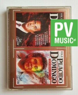 PLACIDO DOMINGO LIVE 1967-69 2x audio cassettes