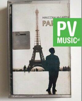 MALCOLM McLAREN PARIS 2 audio cassette