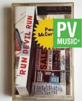 PAUL McCARTNEY RUN DEVIL RUN audio cassette