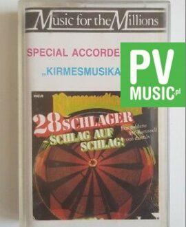 28 SCHLAGER SZLAG AUF SZLAG audio cassette