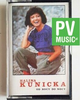 HALINA KUNICKA OD NOCY DO NOCY audio cassette