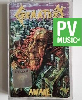 CREMATORY AWAKE audio cassette