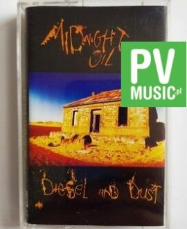 MIDNIGHT OIL DIESEL AND DUST audio cassette