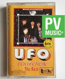 UFO COLLECTION THE BEST audio cassette