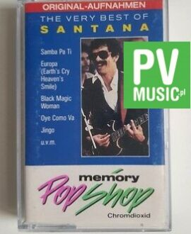 SANTANA THE VERY BEST OF audio cassette