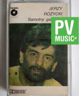 JERZY RÓŻYCKI SAMOTNY GANGSTER audio cassette