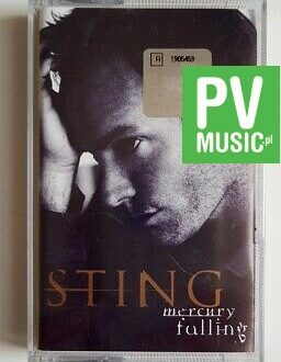 STING MERCURY FALLING audio cassette