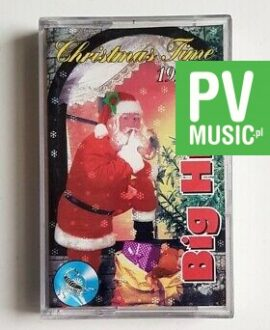 CHRISTMAS TIME 1995 BIG HITS audio cassette