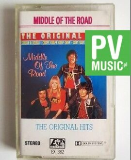 MIDDLE OF THE ROAD THE ORIGINAL HITS audio cassette