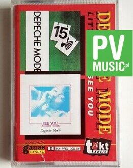 DEPECHE MODE LITTLE 15/SEE YOU audio cassette